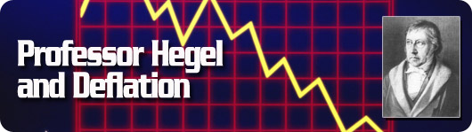 professor hegal and deflation